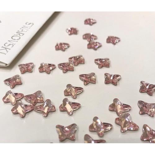 Swarovski 2854 Pink Butterfly - 9pz