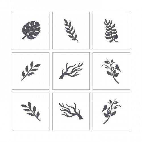 Stencil 11 - Leaves