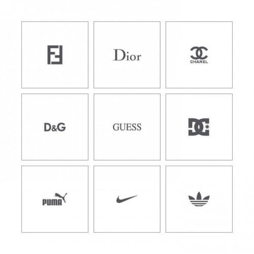 Stencil 12 -  World Brands