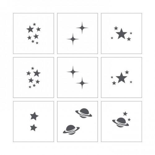 Stencil 15  - Stars & Planets
