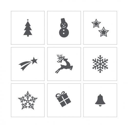 Stencil 22 - Christmas