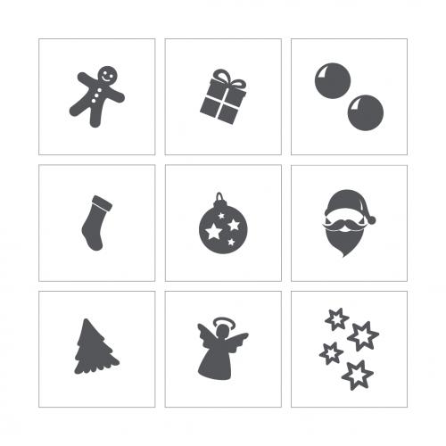 Stencil 23 - Christmas